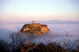 Bagnoregio in mists