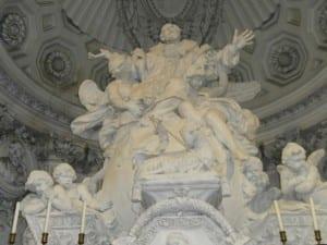 Priorato altar closeup